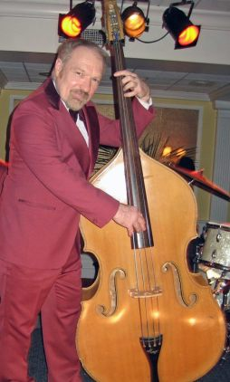 9 Gary Ray as the bass player in the Elmore Leonard project